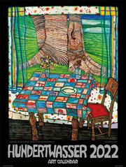 Hundertwasser Art Calendar 2022 - Cover