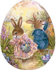 Frühlingsfreude. Ei-Puzzle zu Ostern