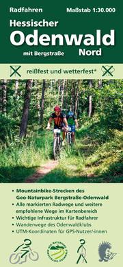 Radfahren, Hessischer Odenwald Nord mit Bergstraße - Cover
