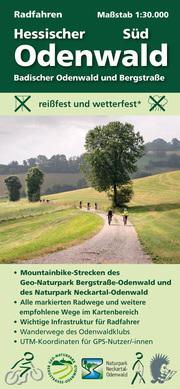 Radfahren, Hessischer Odenwald Süd / Badischer Odenwald und Bergstraße - Cover