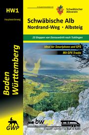 Schwäbische Alb Nordrand-Weg, Albsteig HW1 - Cover