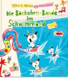 Die Böckchen-Bande im Schwimmbad - Cover