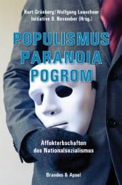 Populismus, Paranoia, Pogrom - Cover