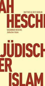 Jüdischer Islam - Cover