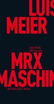 MRX-Maschine - Cover