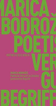 Poetische Vernunft im Zeitalter gusseiserner Begriffe - Cover