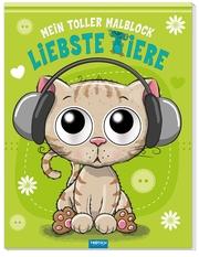 Mein toller Malblock mit Kulleraugen 'Liebste Tiere'