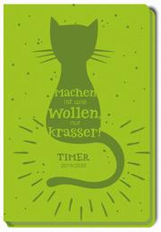 Schülerkalender 'Katze' 2019/2020 - Cover