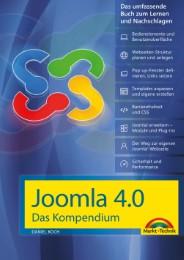 Joomla! 4.0 Das Kompendium - Das umfassende Praxiswissen - aktuellste Version - Cover