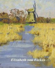 Elisabeth von Eicken - Cover