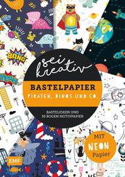 Sei kreativ! - Bastelpapier Piraten, Dinos und Co.