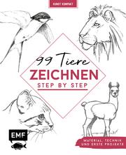 Kunst kompakt: 99 Tiere zeichnen Step by Step