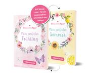 Spring in eine Pfütze! Mein perfekter Frühling/ Mein perfekter Sommer - Wendebuch - Cover