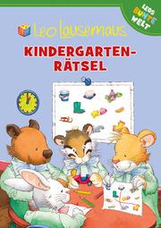Leo Lausemaus - Kindergarten-Rätsel - Cover