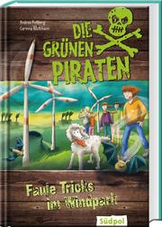 Die Grünen Piraten - Faule Tricks im Windpark - Cover