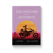 Das Mädchen auf dem Motorrad - Cover
