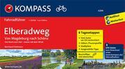KOMPASS Fahrradführer Elberadweg von Magdeburg nach Schöna - Cover