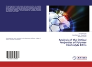 Analysis of the Optical Properties of Polymer Electrolyte Films