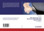 NOx Reduction of a Methanol-Diesel Blended Diesel Engine