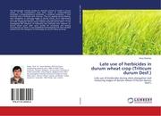 Late use of herbicides in durum wheat crop (Triticum durum Desf.)
