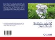 Identification method of sorting multi-material of household waste