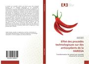 Effet des procédés technologisues sur des antioxydants de la HARISSA
