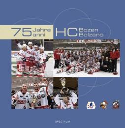 75 Jahre HC Bozen - Cover