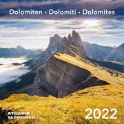 Dolomiten Postkartenkalender 2022 - Cover