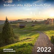 Südtirol Postkartenkalender 2022 - Cover