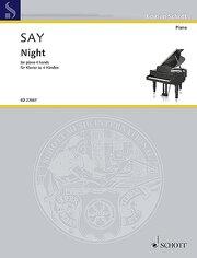 Night op. 68 for piano 4 hands