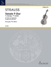 Sonate F-Dur (Erstausgabe der 1. Fassung)