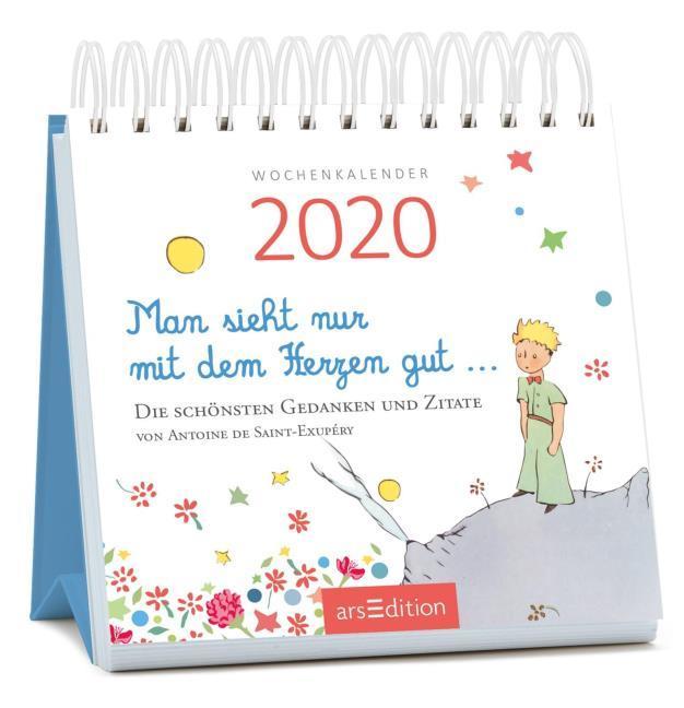 Man Sieht Nur Mit Dem Herzen Gut 2020 Von Antoine De Saint Exupéry Spiralbindung