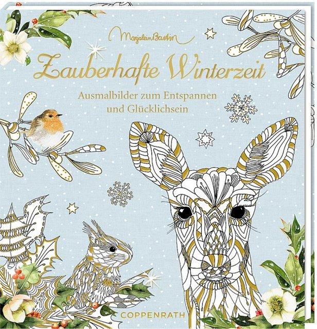 Ausmalbuch Zauberhafte Winterzeit Kartoniertes Buch Coburg