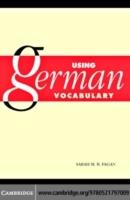 Using German Vocabulary (E-Book, PDF) | Buchhandlung Zabel