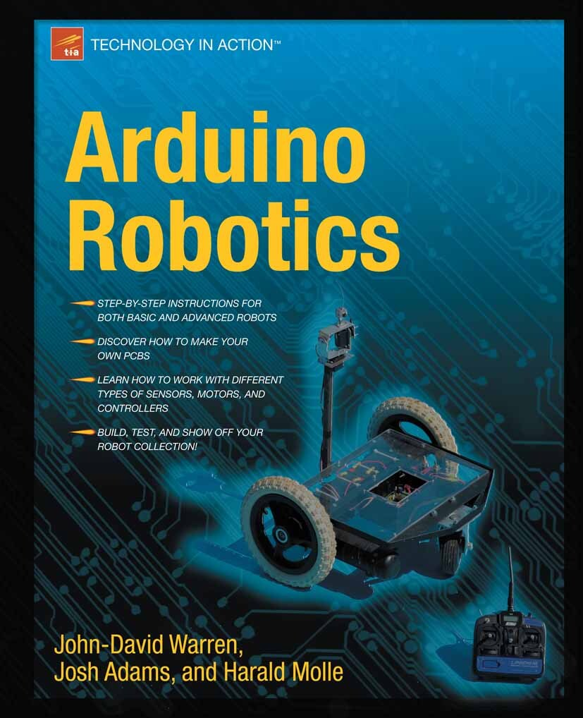 Arduino Robotics (E-Book, PDF) | Bücher Hacker