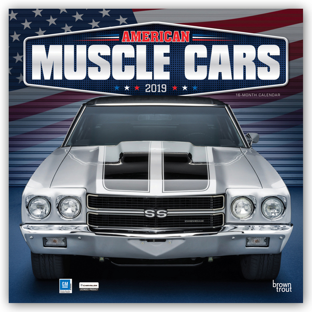 american muscle cars - amerikanische muscle-cars 2019 - 16