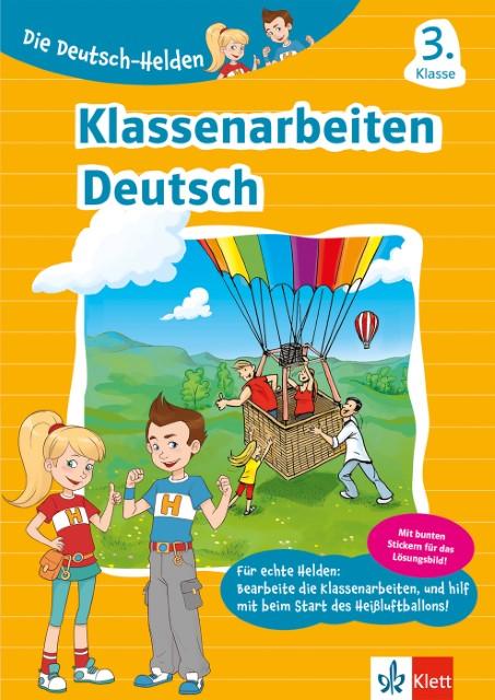 Die Deutsch Helden Klassenarbeiten Deutsch 3 Klasse Geheftet