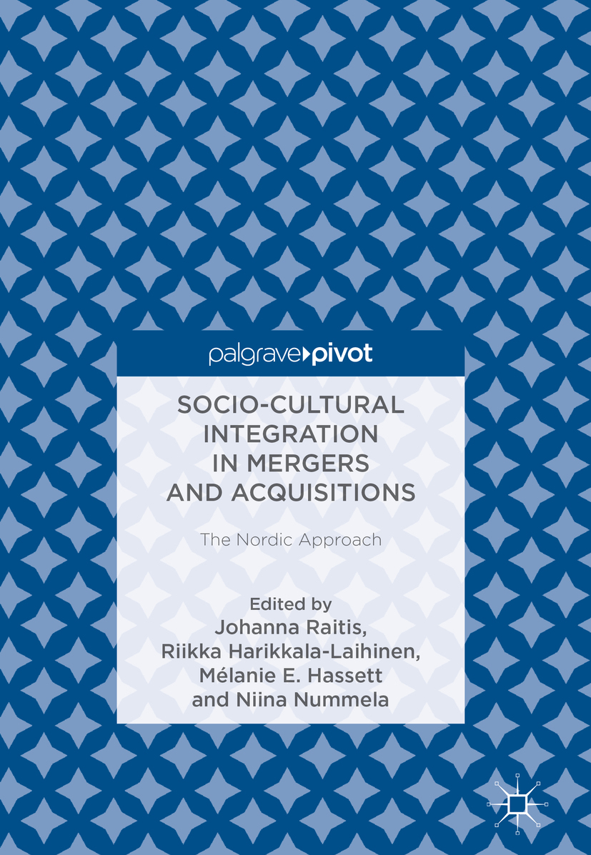Socio-Cultural Integration in Mergers and Acquisitions (E