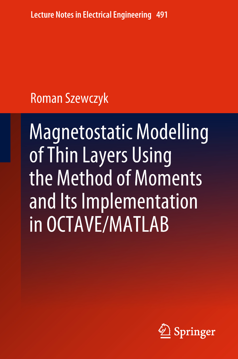 Magnetostatic Modelling of Thin Layers Using the Method of