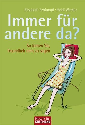 Immer Für Andere Da Von Elisabethwerder Schlumpf Kartoniertes Buch