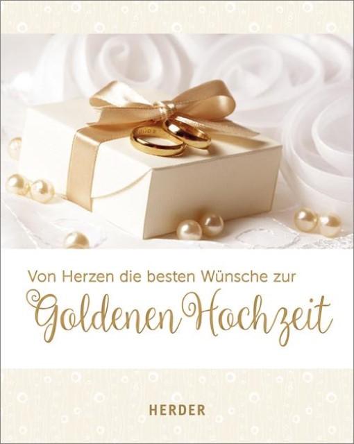Von Herzen Die Besten Wunsche Zur Goldenen Hochzeit Gebundenes Buch