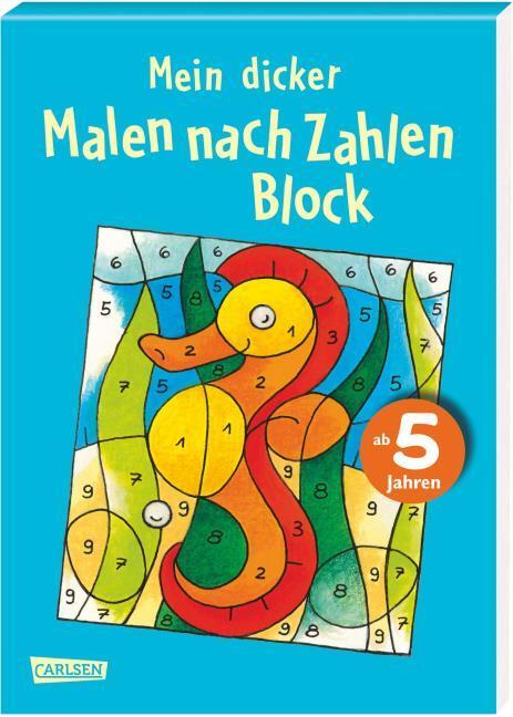 Mein Dicker Malen Nach Zahlen Block Kartoniertes Buch Bücher