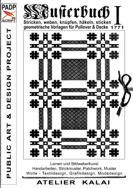PADP-Script 006: Musterbuch I von 1771 (kartoniertes Buch ...