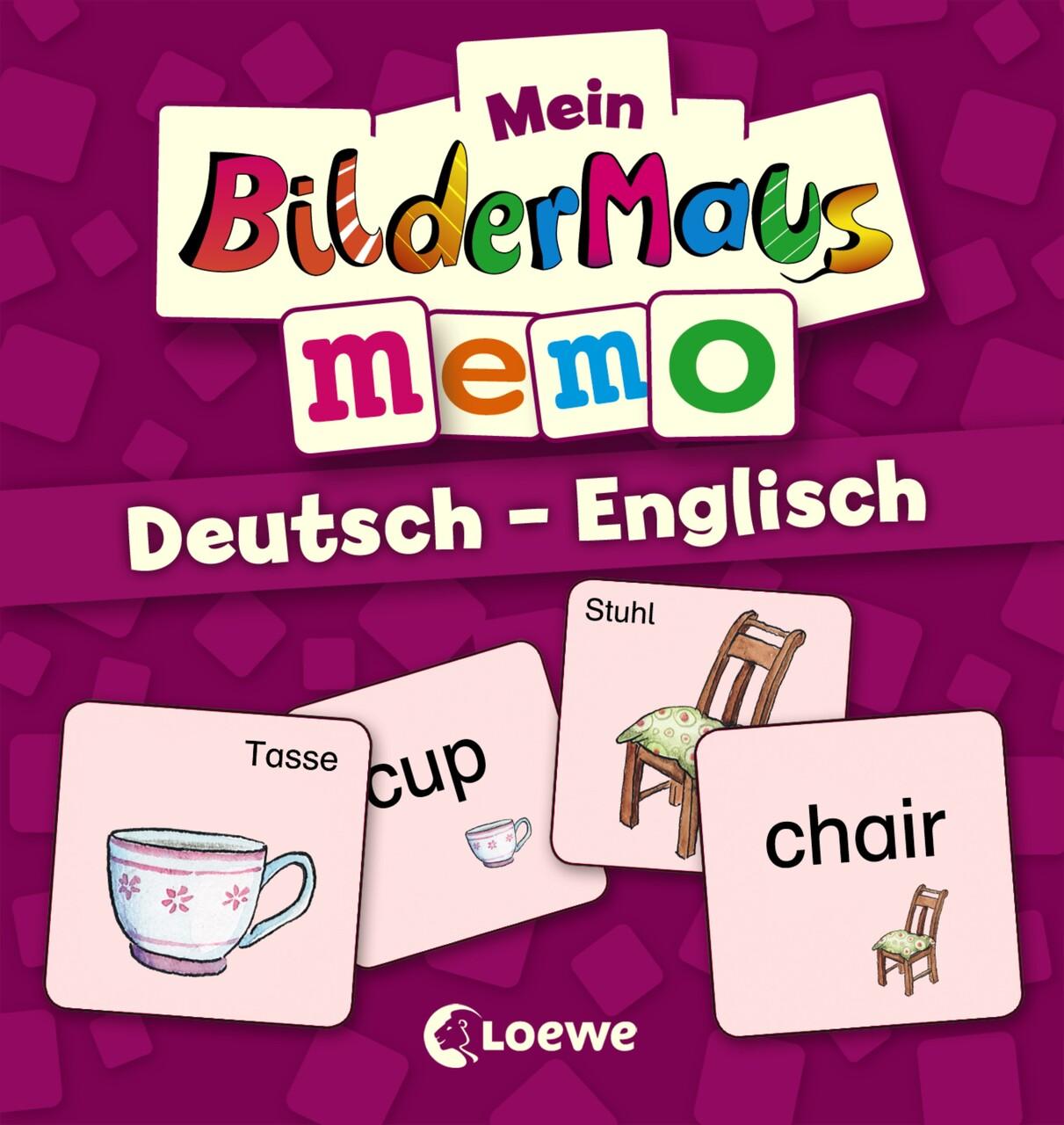 Mein Bildermaus Memo Deutschenglisch Buchhandlung Vogel In