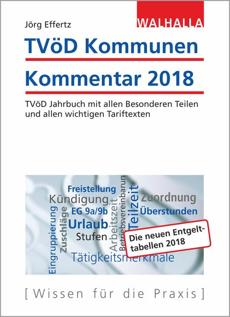 Tvöd Kommunen Kommentar 2018 Gebundenes Buch Buchhandlung Jost