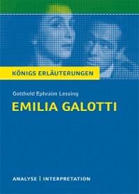 Emilia Galotti Von Gotthold Ephraim Lessing Textanalyse Und