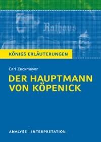 Der Hauptmann Von Köpenick Von Carl Zuckmayer Textanalyse Und