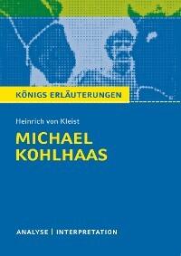 Michael Kohlhaas Von Heinrich Von Kleist Textanalyse Und