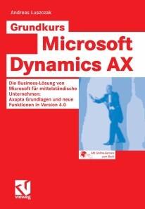 Grundkurs Microsoft Dynamics AX (E-Book, PDF)   Bunter Buchladen