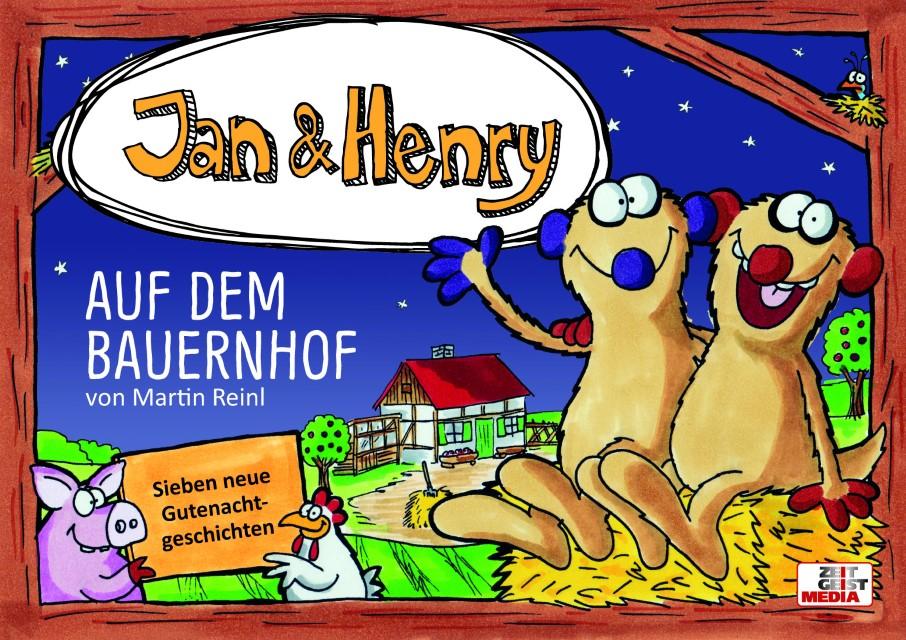 jan  henry auf dem bauernhof gebundenes buch  buch